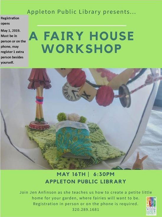 Event Promo Photo For A Fairy House Workshop