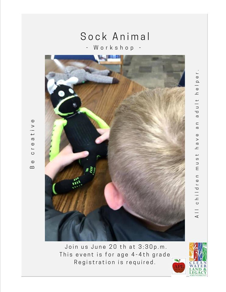 Sock Animal Workshop for Age 4 - 4th grade Photo