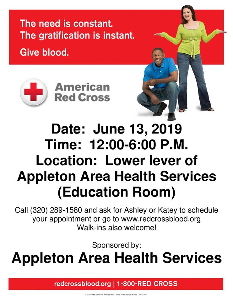 Blood Mobile at Appleton Area Health Services Photo