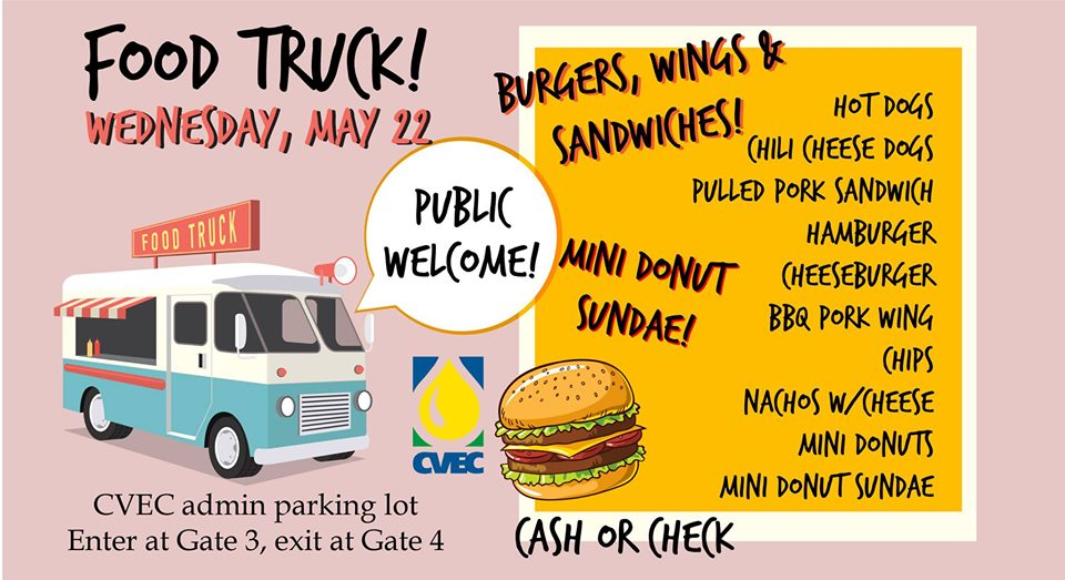 Event Promo Photo For CVEC Food Truck!