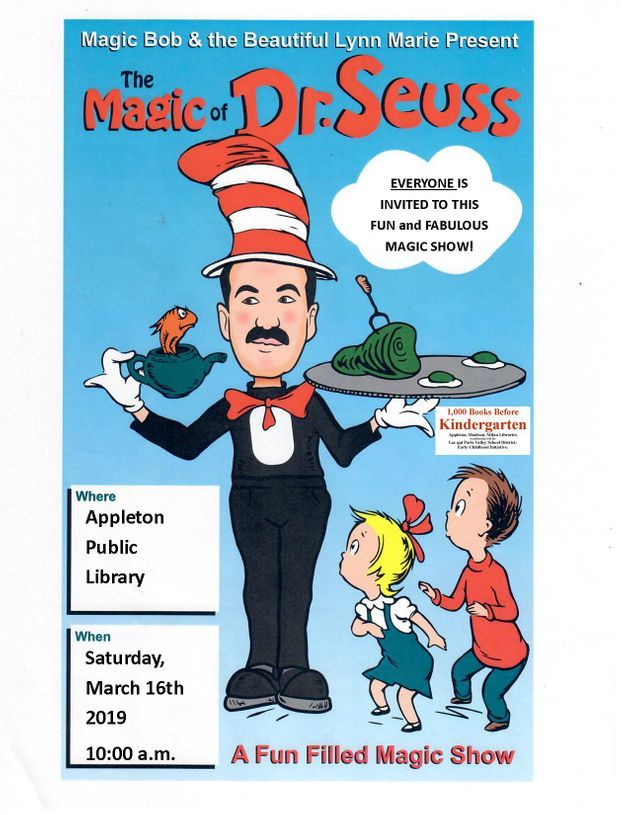 Event Promo Photo For The Magic of Dr. Suess
