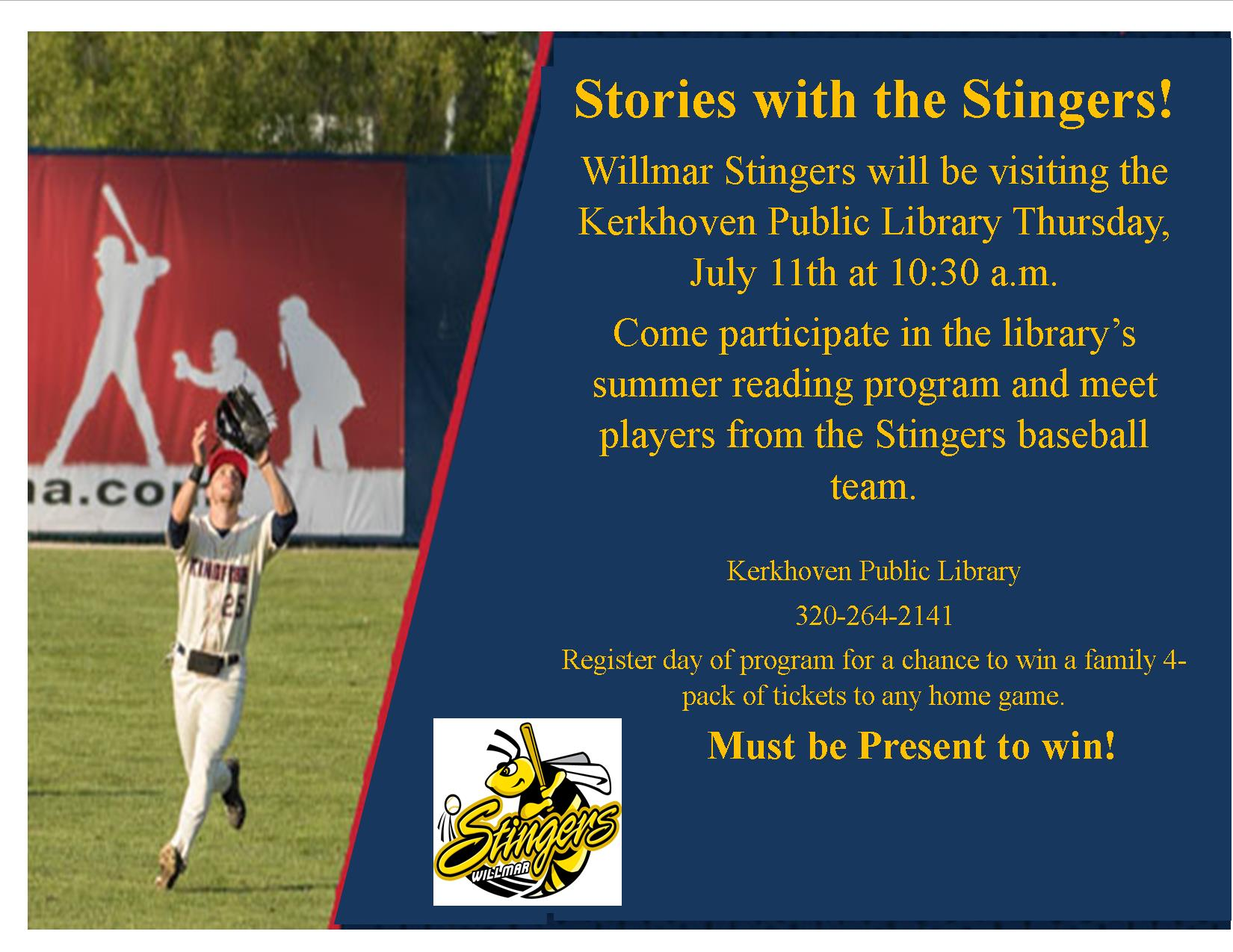 Stories with the Stingers Photo
