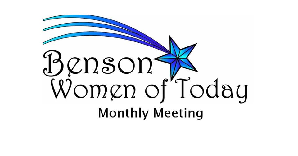 Benson Women of Today Monthly Meeting Photo